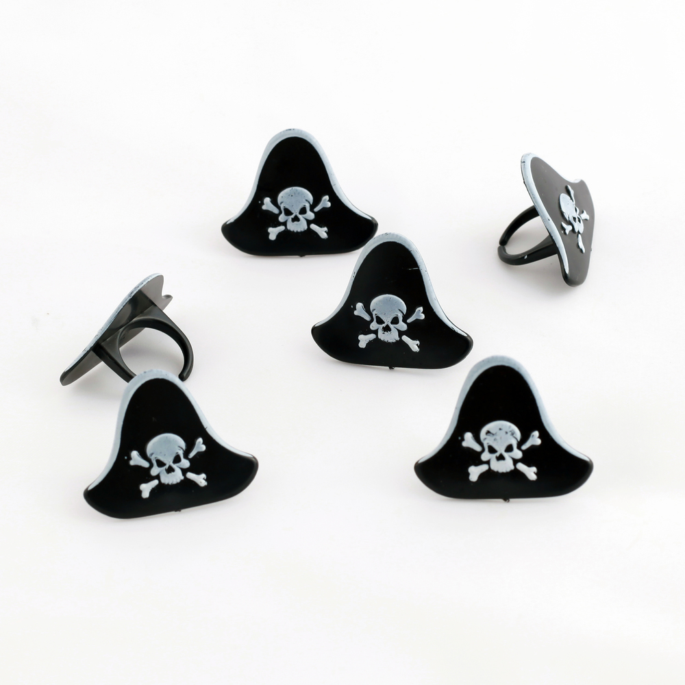 pirate hat cake toppers