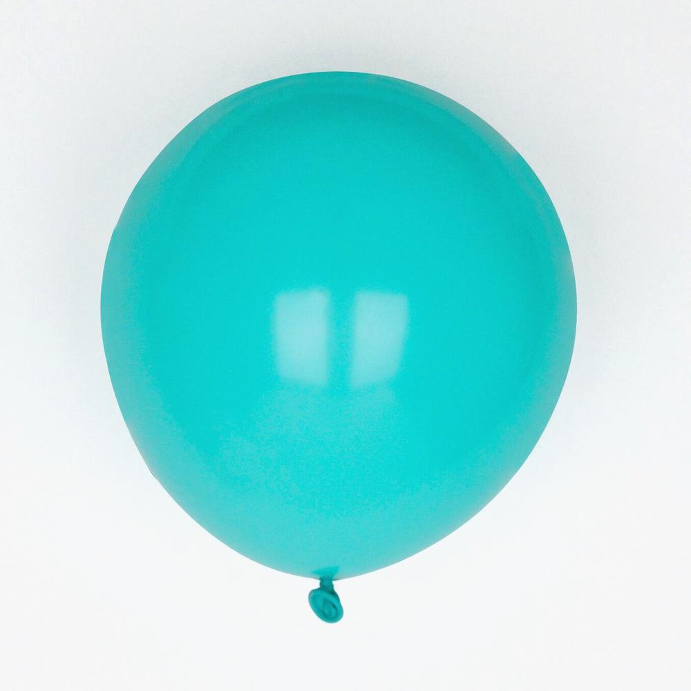 10 aqua balloons