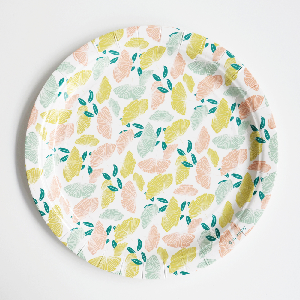 8 flower plates