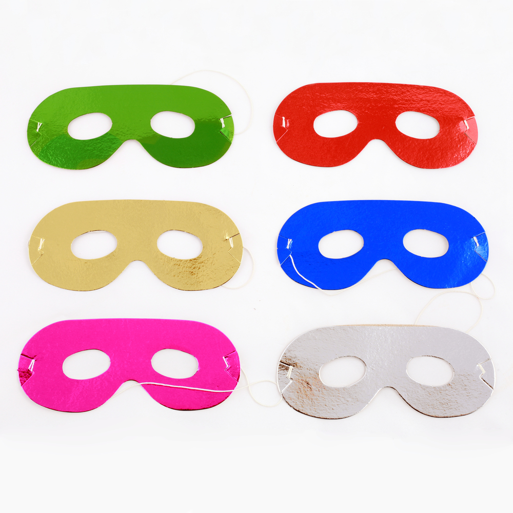 8 superhero masks