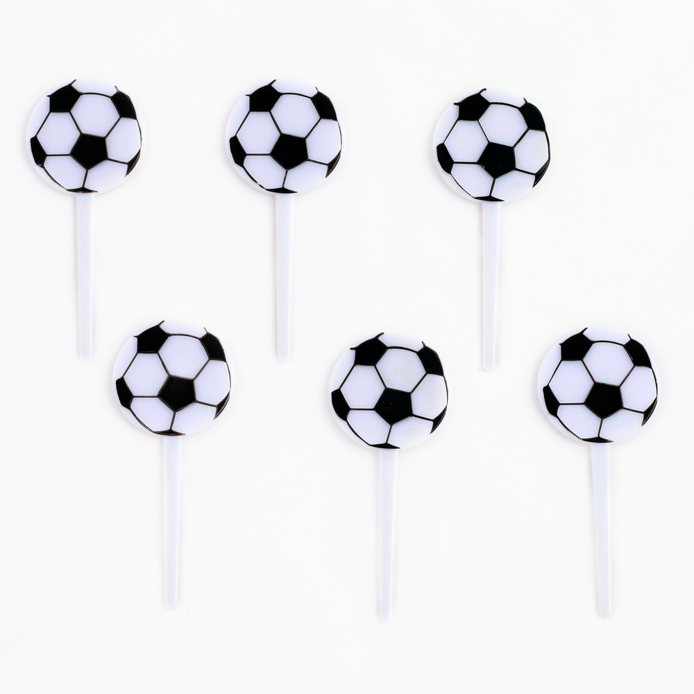 12 FOOTBALL CAKE TOPPERS