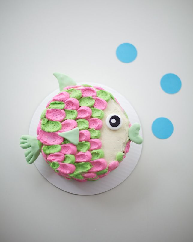 FISH BIRTHDAY CAKE - COCO CAKE LAND