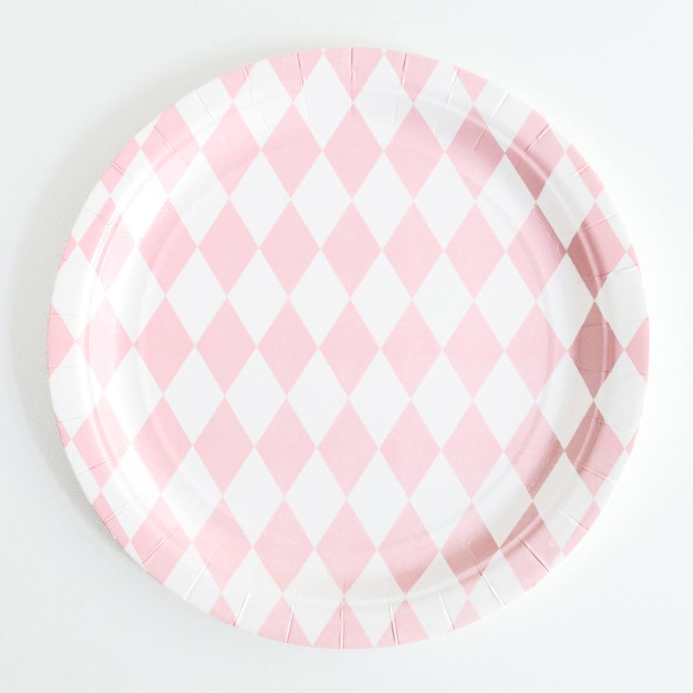 My Little Day pink diamond plate