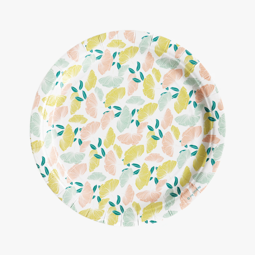 MY LITTLE DAY FLORAL PAPER PLATES  sc 1 st  party kitsch & FLOWER FAIRY \u2014 PARTY KITSCH