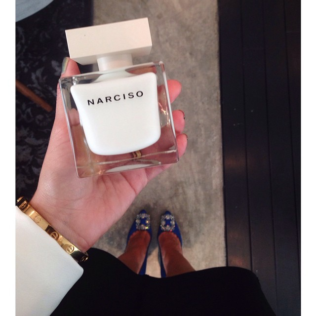 Total sexyness… Thanks to @narciso_rodriguez team for this deliciousness 😍. // available now in Mexico too .. #narciso #perfume #ootd #fblogger