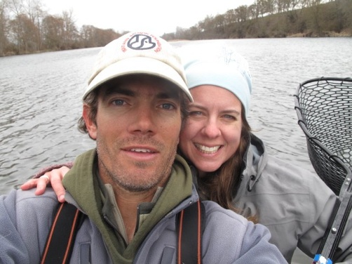 Jim andras and Rachel Andras - Fly Fising Guides - Rogue River, Oregon