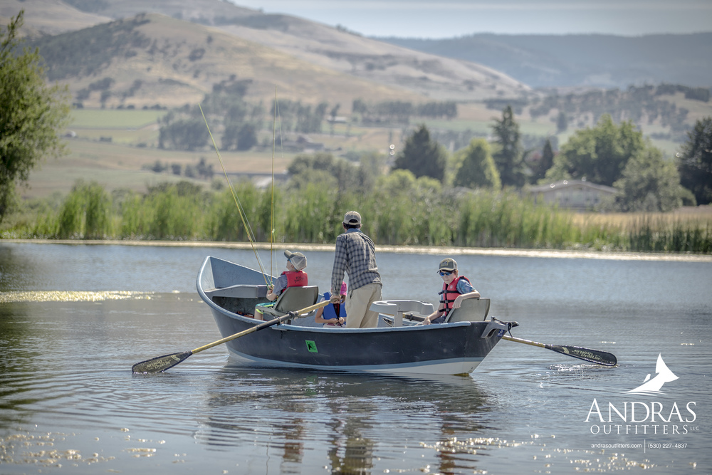 Kids Fly Fishing Camps - Rachel Andras and Jim Andras