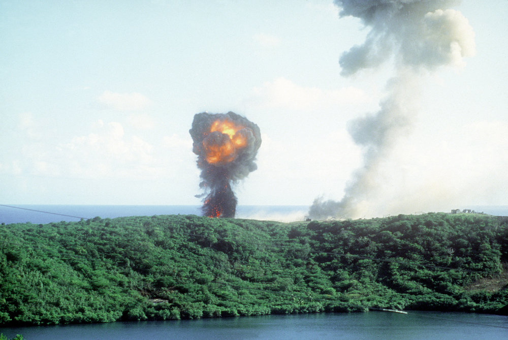 Explosion2_during_Grenada_invasion_1983.JPEG