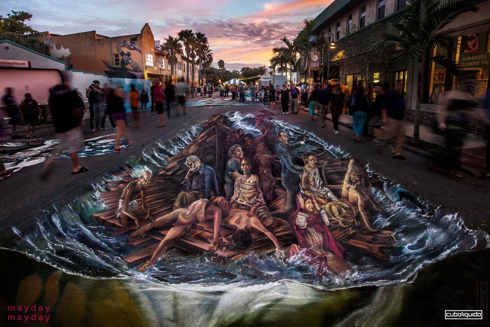 Sarasota Chalk Festival 2013