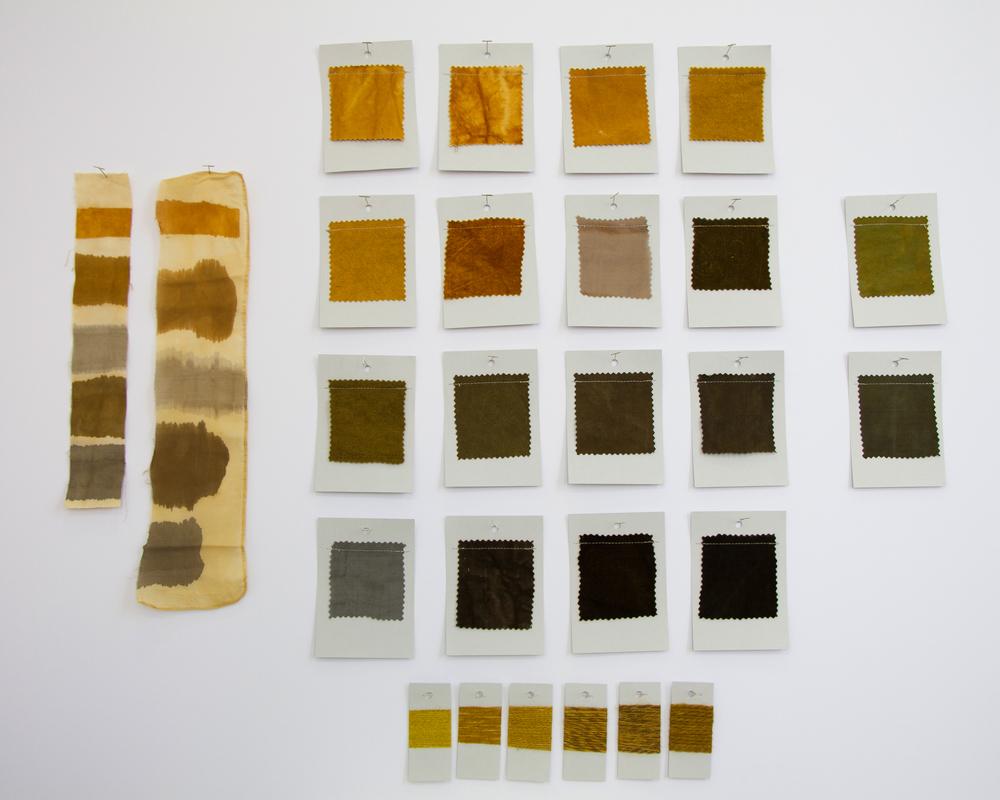 Marigold Dye Card