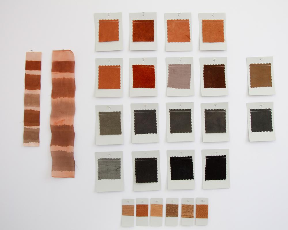 Cutch Dye Card