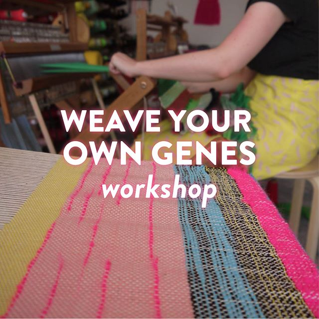 We've teamed up with the @thelondonloom to bring you a DNA x weaving masterclass! If you fancy getting to know your genetic self & creating your own personalised weave then come to our workshops! Available on thelondonloom.com 🌈 . . . .  #dna #genetics #weaving #dnapersonalized #consumergenetics #london #craft #londonloom