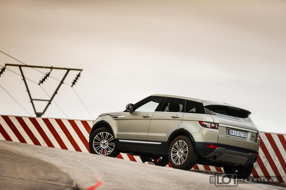 Range Rover Evoque: Stripes rear