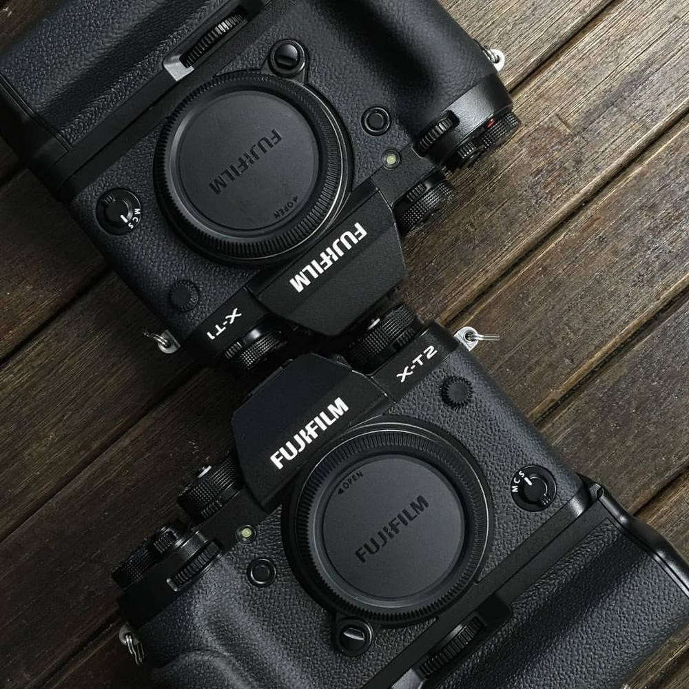 Head to head : #fujifilm #xt1 vs #xt2   #Mirrorless #upgrade #onegiantleap #  The xt1 has built up quite a reputation and it would take a piece of machinery of significance and of substance to take its place. The X-T2 is more than camera enough for the po