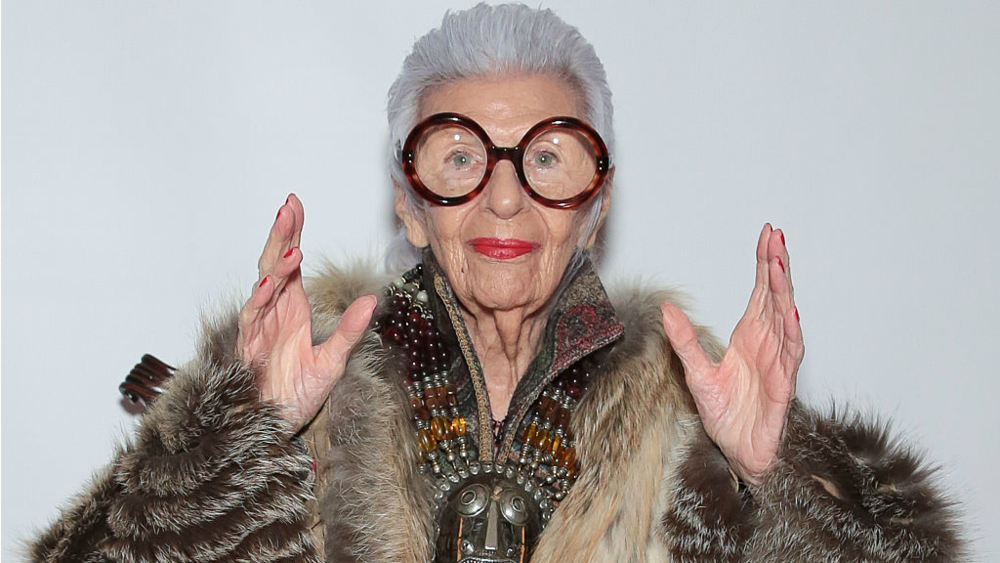 "According to Iris Apfel, great personal style is about knowing yourself, staying curious, and maintaining a sense of humor. Her career as an interior designer and textile maker has taken her to far corners of the world.  To Quote Iris "" There is no how to road map to style. Its about self expression, and above all, attitude."""