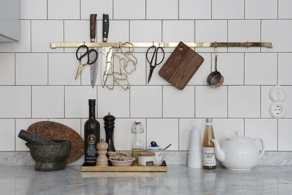 Once your dream kitchen is built, accessorise - have you faves on hand.