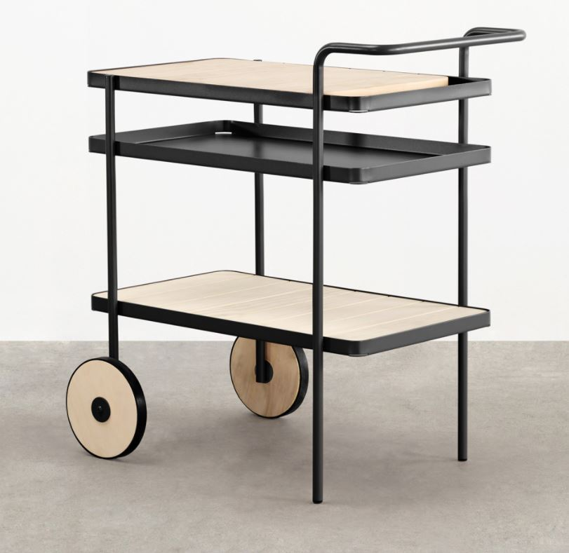 - And lastly.. I'm mad for a drinks trolley.Move them from inside to outside.They are so versatile and this one.. well what more can I say. Its amazing!You can pick one up at https://madebytait.com.au/product/trace-drinks-trolley/