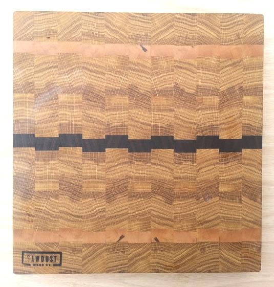 white oak board