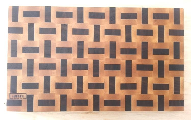 cutting board wicker design