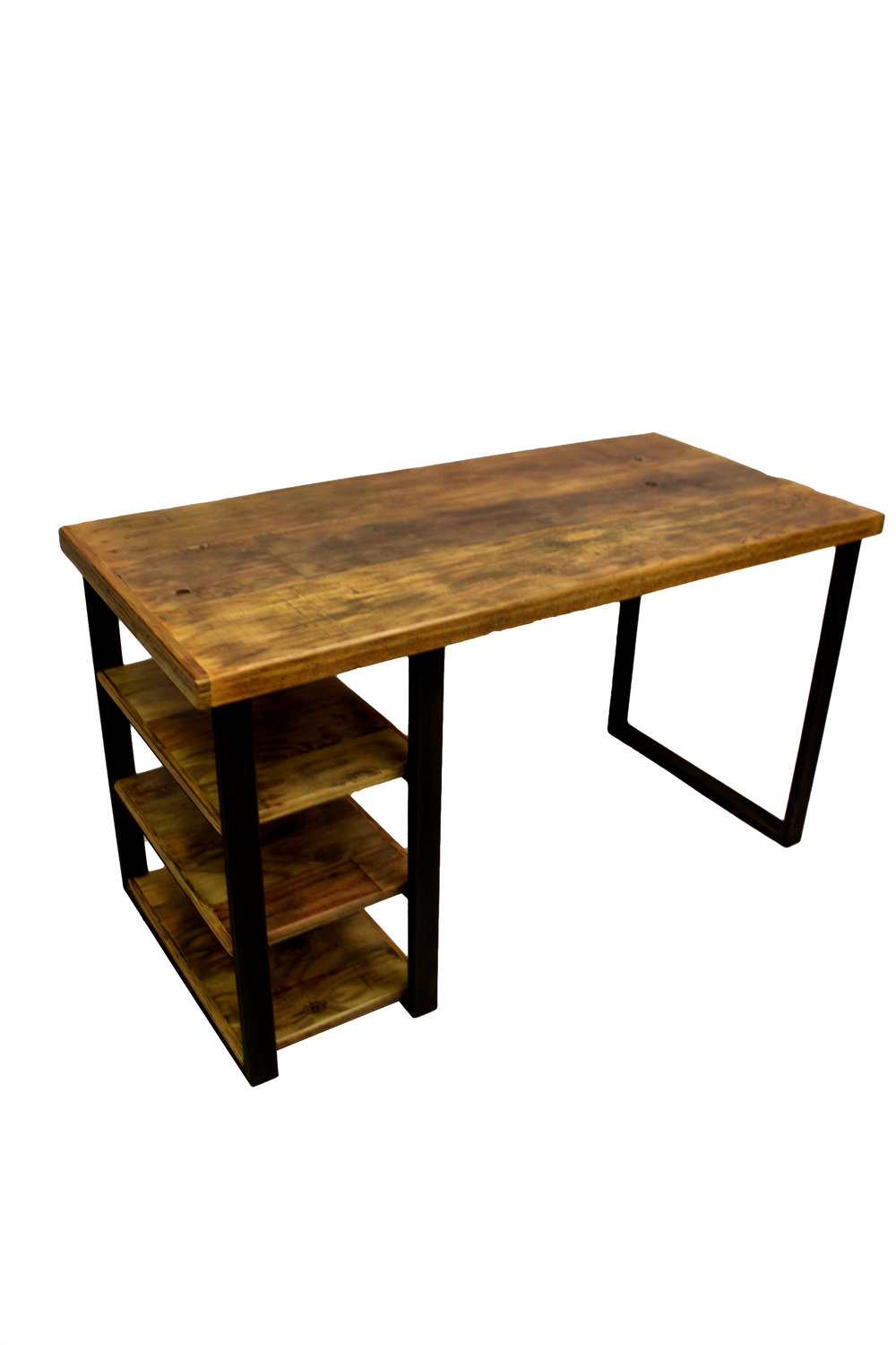 Scaffold board desk