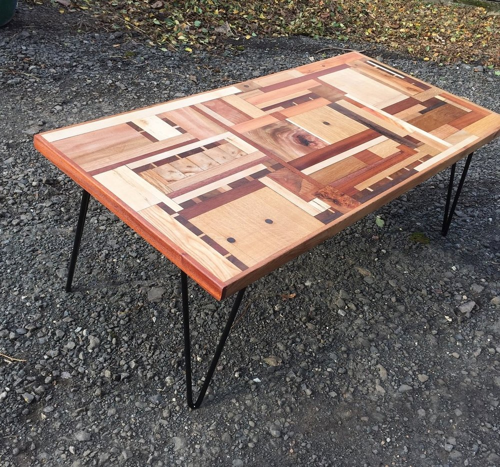 The offcuts table
