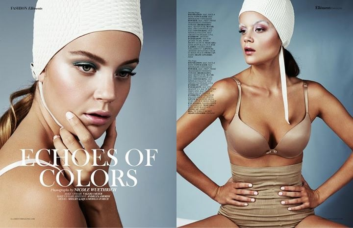 Make Up: Valeria Meier  Fotografin: Nicole Wühthrich  for Elements Magazine