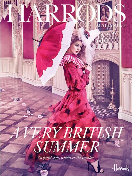 Make Up: Yasmin Heinz,Agentur Soho Management London  Fotograf: Ruven Afanador  for Harrods Magazine