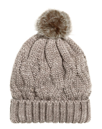 Wool-blend Cable-knit Hat$12.99