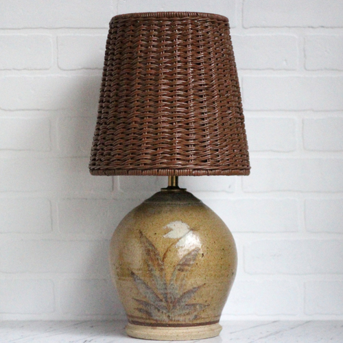 Vintage Stoneware Lamp (Lampshade Included) — Vintage Home Decor ...