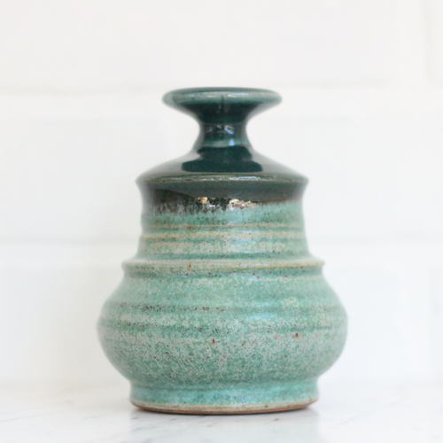Vintage Studio Pottery Bud Vase Vintage Home Decor Portland Oregon