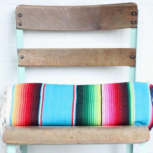 Vintage Mexican Serape / Blanket — Vintage Home Decor Portland ...