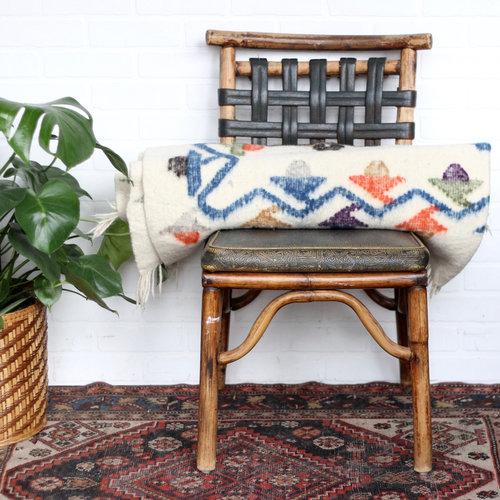 Antique Wool Guatemalan Blanket — Vintage Home Decor Portland Oregon ...