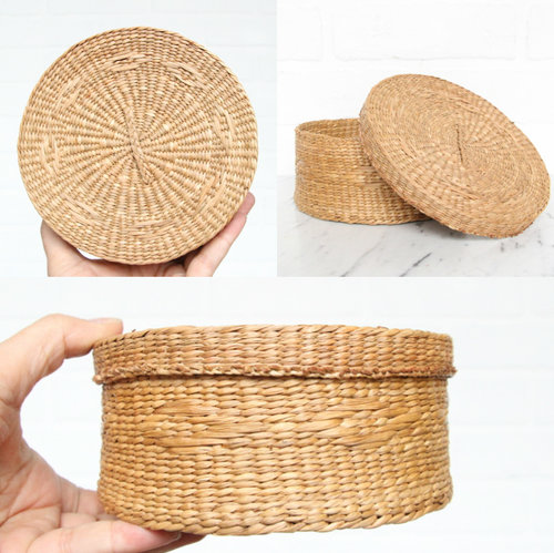 woven basket with lid. Woven Basket+Lid Basket With Lid