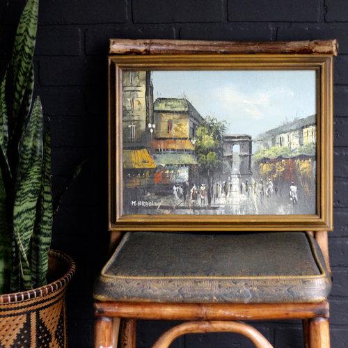Painting On Canvas — Vintage Home Decor Portland Oregon   Left Coast ...
