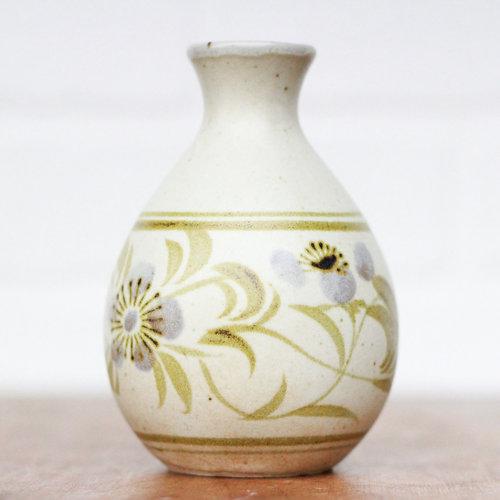 Small Stoneware Vase Vintage Home Decor Portland Oregon Left