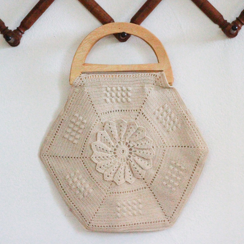 Crochet Bag Vintage Home Decor Portland Oregon Left Coast Revivals
