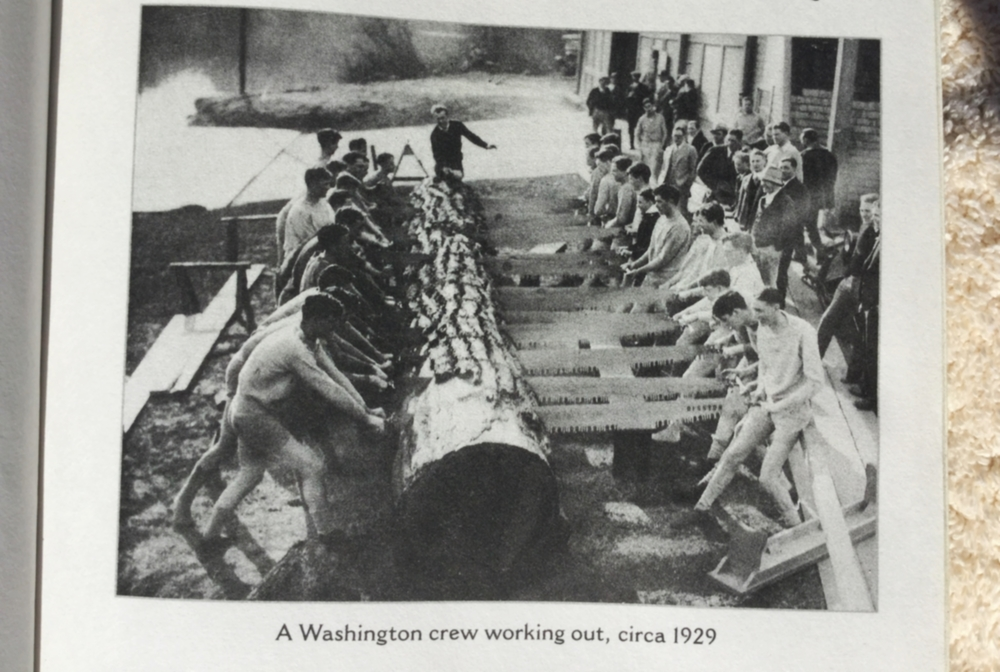 University of Washington athletes demonstrating their own take on functional training.