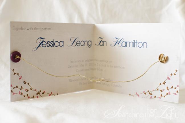 Elegant Jessicaandianinvitation_04 Copy Tie The Knot Wedding Invitation Jessica And  Ianu0027s Wedding Stationary | Denver Wedding Invitations