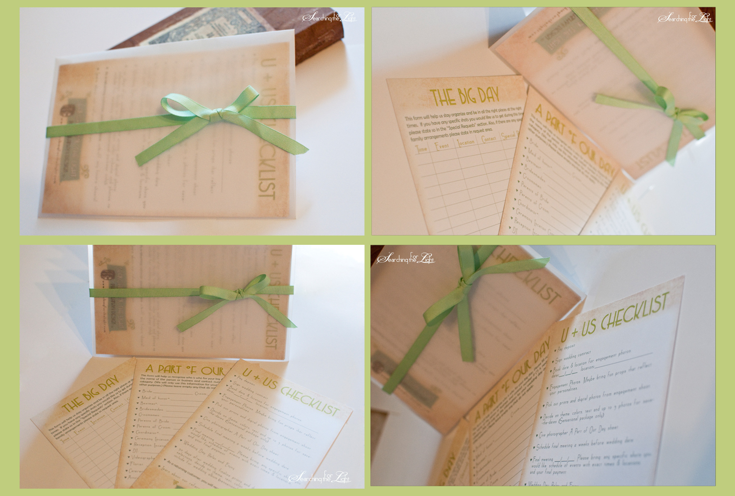 wedding packet