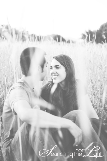 Becca & David {Engaged | The Field} | Denver Wedding Photographer | Denver Engagement Photographer | Vintage Photographer