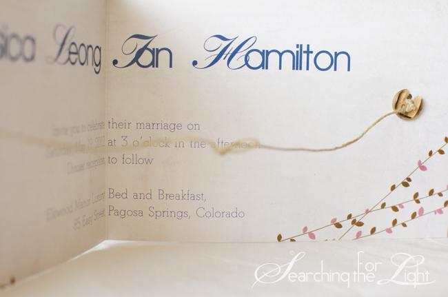 Jessicaandianinvitation_04 Copy Tie The Knot Wedding Invitation Jessica And  Ianu0027s Wedding Stationary | Denver Wedding Invitations
