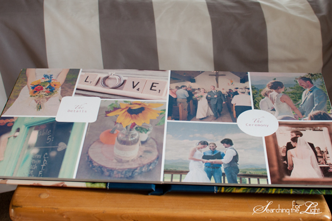 Magazine Style Wedding Album {Dreams Come True Wedding Album} | Denver Personalized Wedding Album