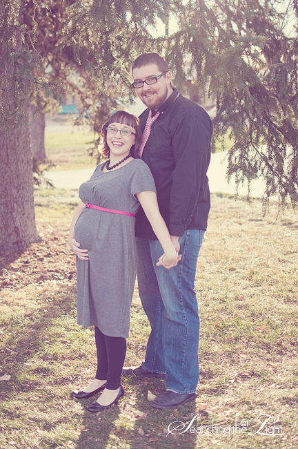 Creative Maternity Photography {Laura & Wes + 1} | Denver Maternity Photographer | Denver Vintage Wedding Photographer