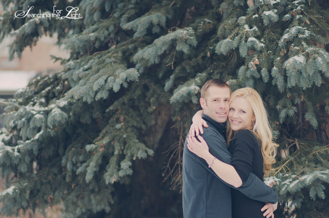 Winter Engagement {Colette & Matt | Golden, CO} | Denver Engagement Photographer | Denver Vintage Wedding Photographer
