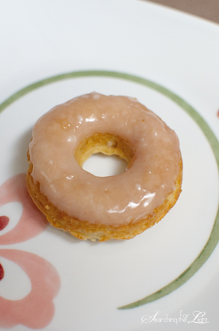 Homemade Baked Strawberry Glazed Donuts Recipe Photo