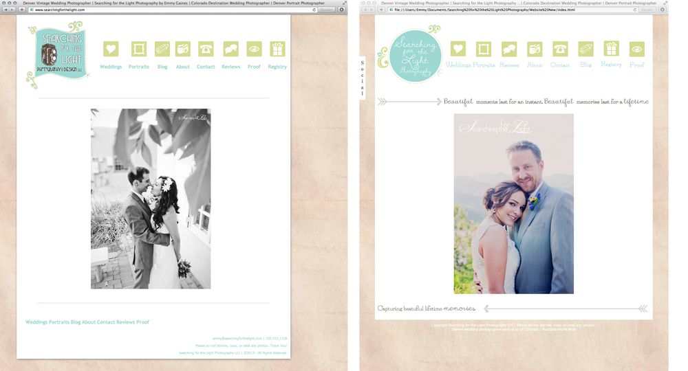Denver Wedding Photographer | Searching for the Light Photography New website 2013