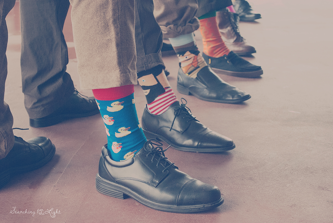 Wedding Ideas #18 {Outfits 1 | Socks and Dudes) — Searching for the ...