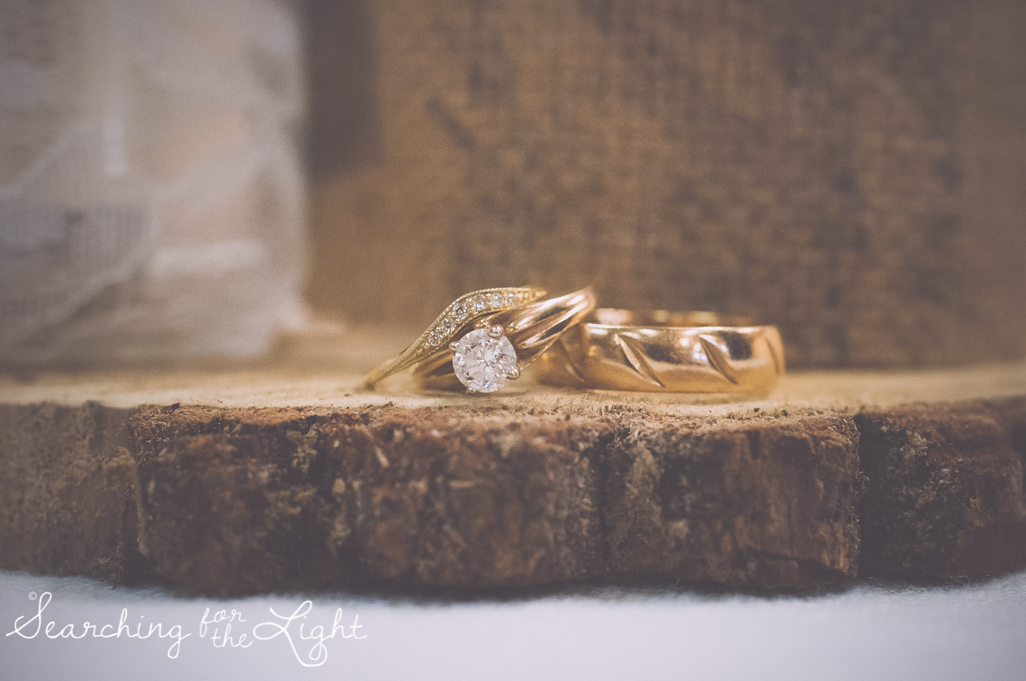 Denver Wedding Photographer Shares Destination Wedding in NM, gold wedding rings