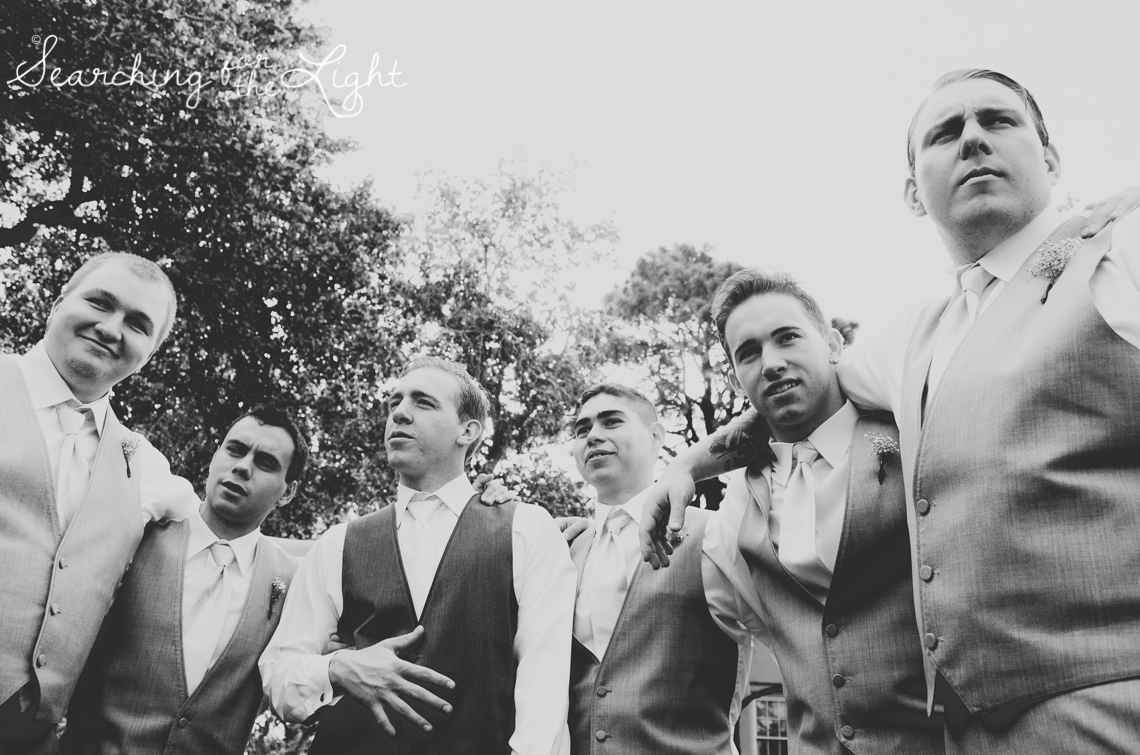 Denver Wedding Photographer Shares Destination Wedding in NM, groomsmen creative photo