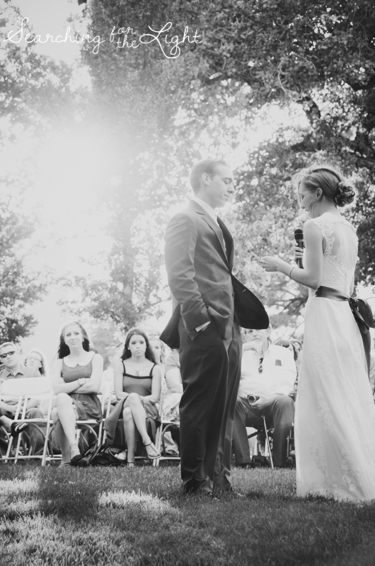 Denver Wedding Photographer Shares Destination Wedding in NM, wedding vows photos, wedding ceremony, vintage photographer, film wedding photography